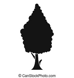 Cypress icon, simple style - Cypress icon. Simple...