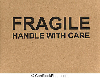 Fragile handle with care label tag - Fragile handle with...