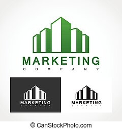 Marketing Logo Symbol. - Suitable for professional design...