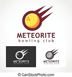 Meteorite Logo Symbol. - Suitable for professional design...