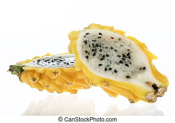 Pitahaya (Selenicereus megalanthus) - Exotic tropical fruit...