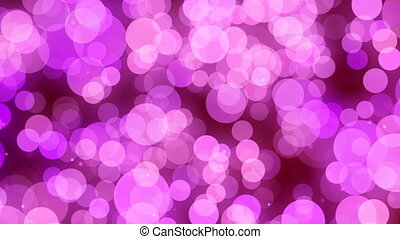 Festive Bokeh Pink Abstract Motion Background