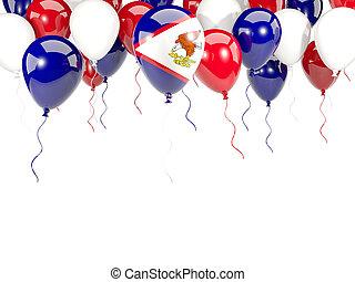 palloni, americano,  Samoa, bandiera