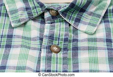 Close-up scott shirt - Close-up on scott shirt