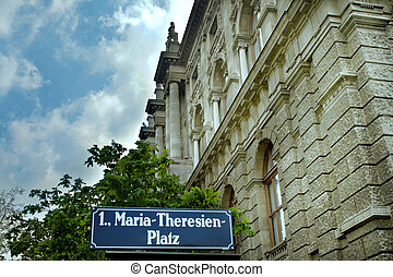 Vienna - Maria Theresien Platz - View from Vienna - Maria...