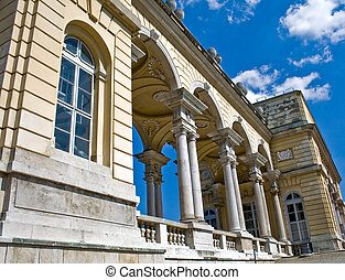 Gloriette building at Schonbrunn Palace, Vienna
