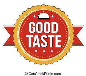Good taste sticker