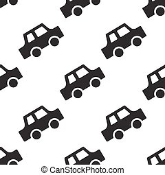 Car seamless pattern