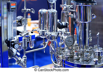 Medical pharmacology laboratory for chemical analysis...