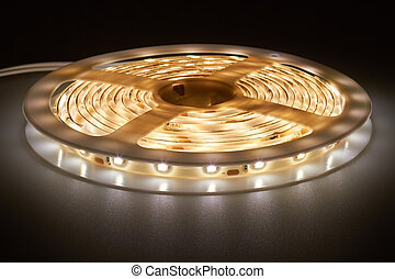 light emitting diodes - Three-meter-long light strip with...