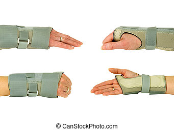 wrist braces for support