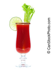 Caesar Drink - Caesar made with vodka and clamato, served in...