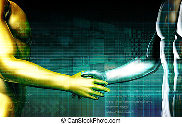 Integration with Technology as a Art Concept