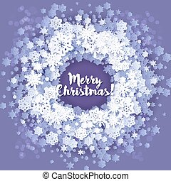 Christmas and New Years blue purple background