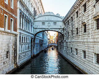 Bridge of Sighs in Venice HDR - HDR Ponte dei Sospiri...