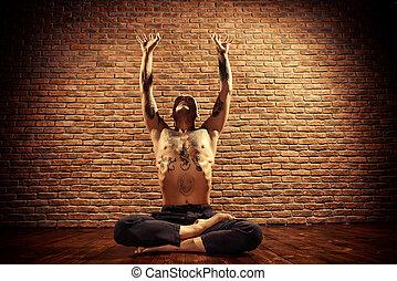 loto, meditación