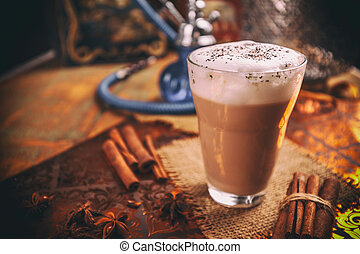 Chai latte spiced tea