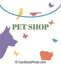 Pets Vector Logo Template