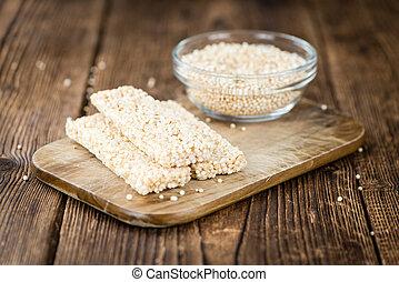 Quinoa, barras, casero