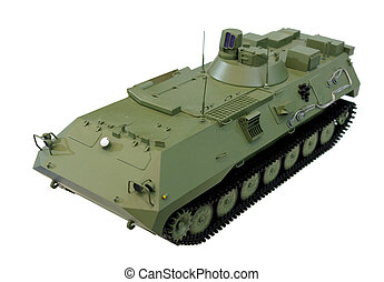 Armoured fighting vehicle - Miniature model of armored...