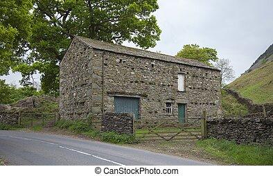 Bank Barn, The Lake District, Cumbria, England