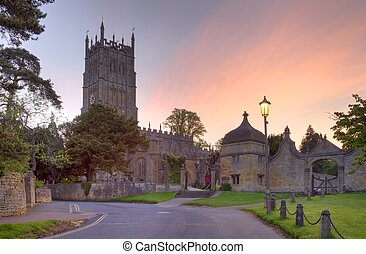 Chipping Campden church, Gloucestershire, England.