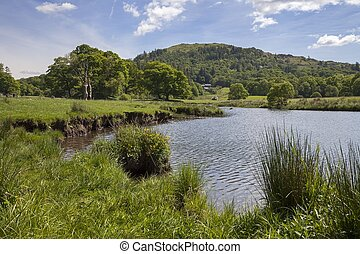 Elterwater, The Lake District, Cumbria, England