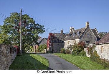 Halford village, Warwickshire, England