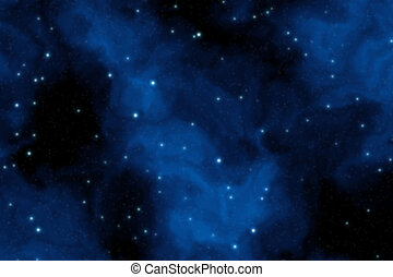 Science fiction background - Deep space background filled...