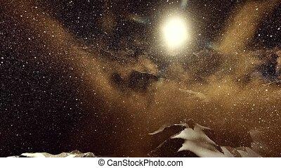 Alpine landscape in the Alps - Alpine landscape in the...