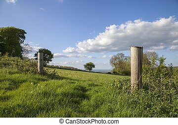 Rural Cotswolds, Gloucestershire, England