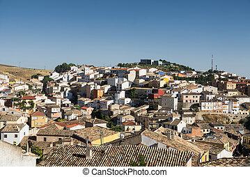 Cuenca (Spain), cityscape - Cuenca (Castilla-La Mancha,...