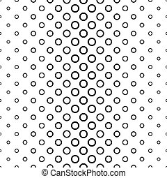 Abstract black and white ring pattern background