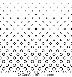 Abstract black white ring pattern background
