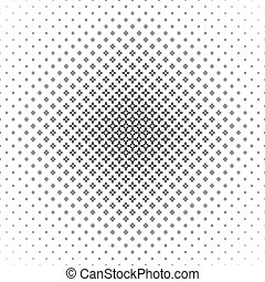 Abstract black white thorn pattern design