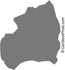 Map - Bubanza (Burundi) - Map of Bubanza, a province of...