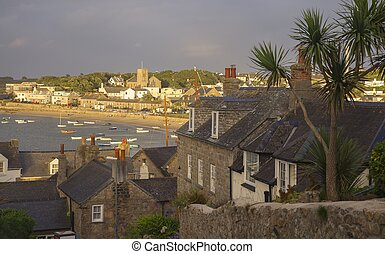 St Mary's Harbour, Isles of Scilly, England