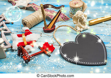 Christmas background blank space - Christmas background,...