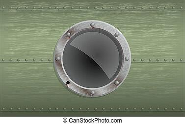 Vector illustration of illuminator