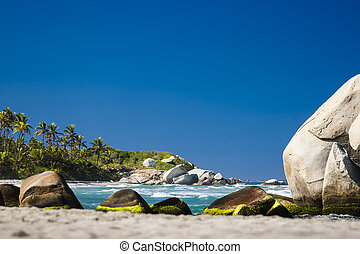 National Natural Park Tayrona in Colombia