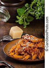 Pasta arrabiata delicious, spicy and simple delicous pasta...