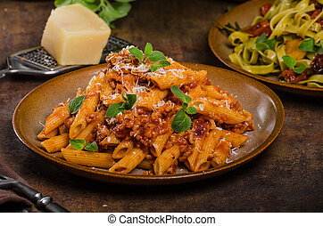 Pasta arrabiata delicious, spicy and simple delicous pasta...