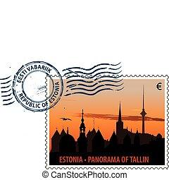 Postmark from Estonia