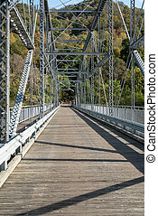 Old Fayette Station bridge in West Virginia - Old Fayette...