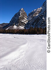 Julian Alps in Saisera Valley - Friuli Italy - Julian Alps...