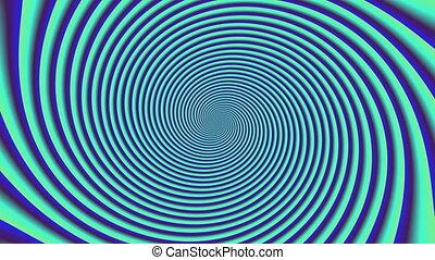 Psycho pattern seamless loop 4K UHD video