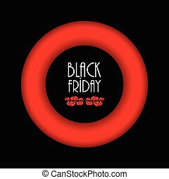 black friday abstract background, advertising banner with special design