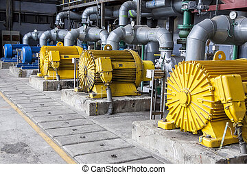 Large water pumps