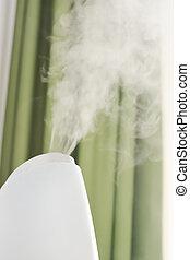 Baby room air humidifier