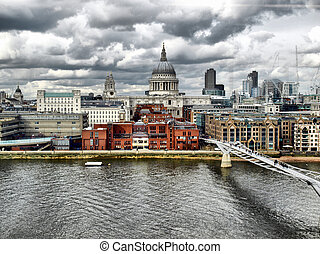 St Paul Cathedral, London - St Paul Cathedral in London,...